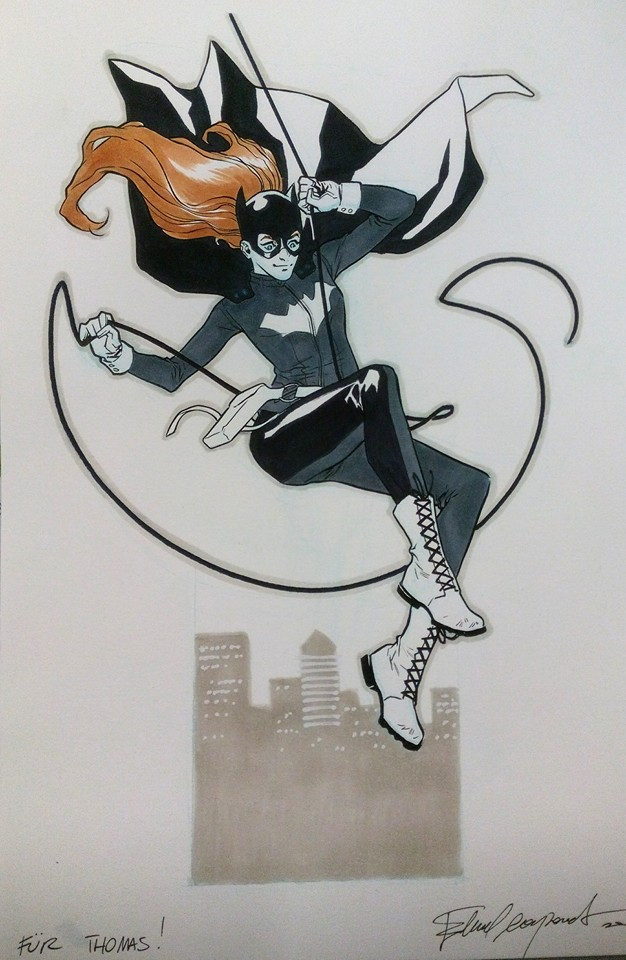 Batgirl commission by elena-casagrande