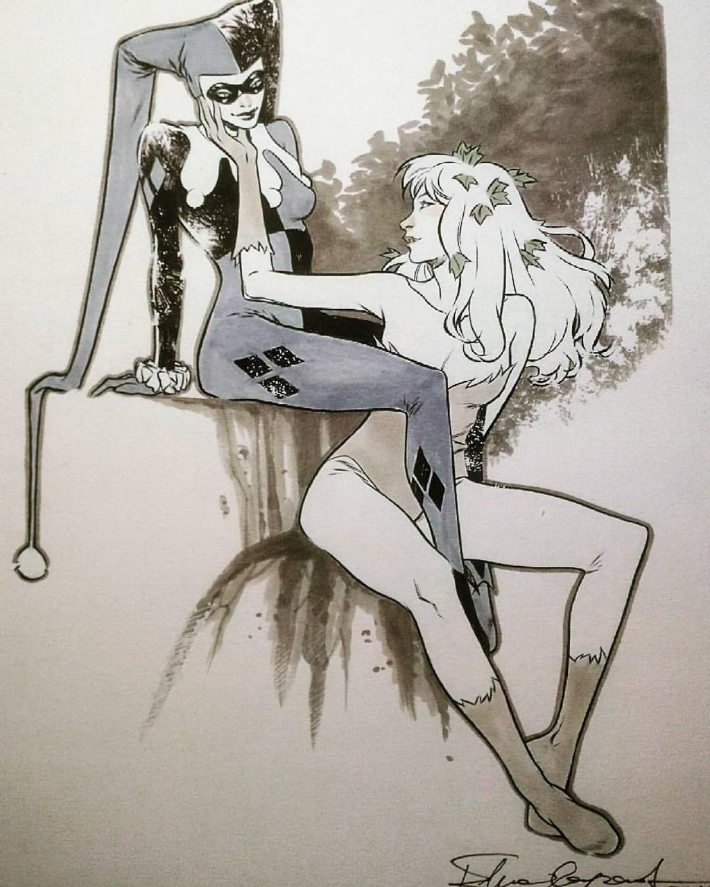 Harley and Ivy by elena-casagrande
