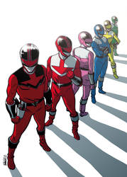 Power Ranger - Time Force by elena-casagrande