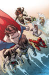 Justice League variant cover