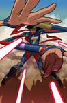 Miss Marvel - Avengers variant cover