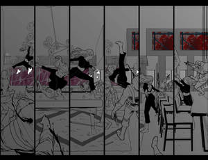 Black Widow #4 - page 8-9