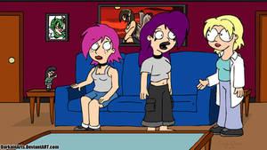 Family Guy Styled FantaSize Characters by DarkainArts