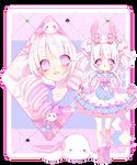 |Adoptable Auction| bunny kawaii #1| CLOSED|