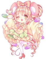 |OC|Sweet macarons| Alice|