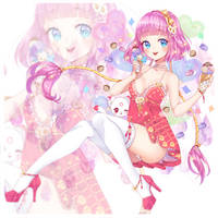  SS Neko Rina  sweetie haruyo  by Hosha-Usagi
