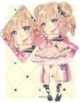 |Adoptable auction| sweet girl bear| EMERGENCY by Hosha-Usagi