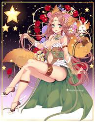 |CM|sweet fox|RyverWren| by Hosha-Usagi