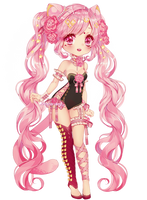Adoptable auction| sweet kitty|CLOSE