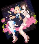 Rumaychian and Hosha-usagi - Comission info