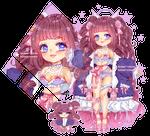 Adoptable Auction Sakura Angel Girl |EMERGENCY