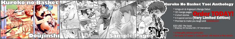 Kuroko no Basket Yaoi Doujin by Ichigo-OH