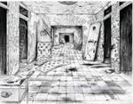 Abandoned hospital by KennethFontanoArt