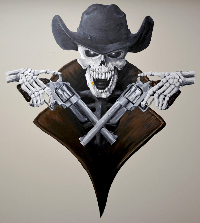 West Coast Cowboys Squadron Logo by KennethFontanoArt