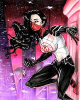 Marvel - Silk by KennethFontanoArt