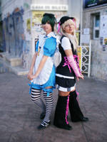 Nijikon 2010 - Ciel and Bou by SakuraCherry7