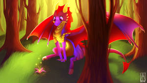 look that .3. - art trade with LordOfTheFeathers by Aliashiro