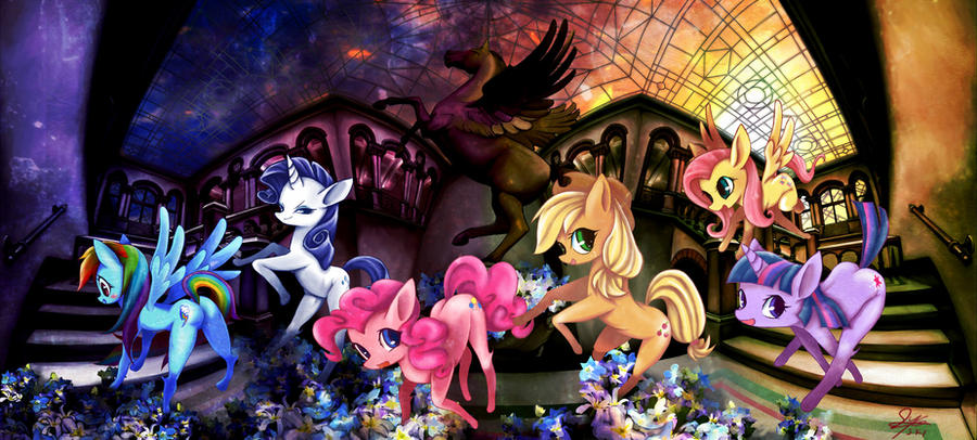 My Little Pony Groups by skyshek