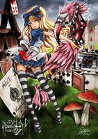 Neveland and OZ Alice by skyshek