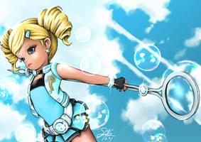 Powerpuff Girls Z Rolling Bubbles (Dolly) by skyshek