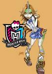 Monster High oc Hana Ten'i School Uniform