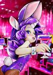 MLP Rarity Human BunnyGirl and Twilight Cocktail