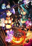 Halloween MLP princess luna Chrysalis