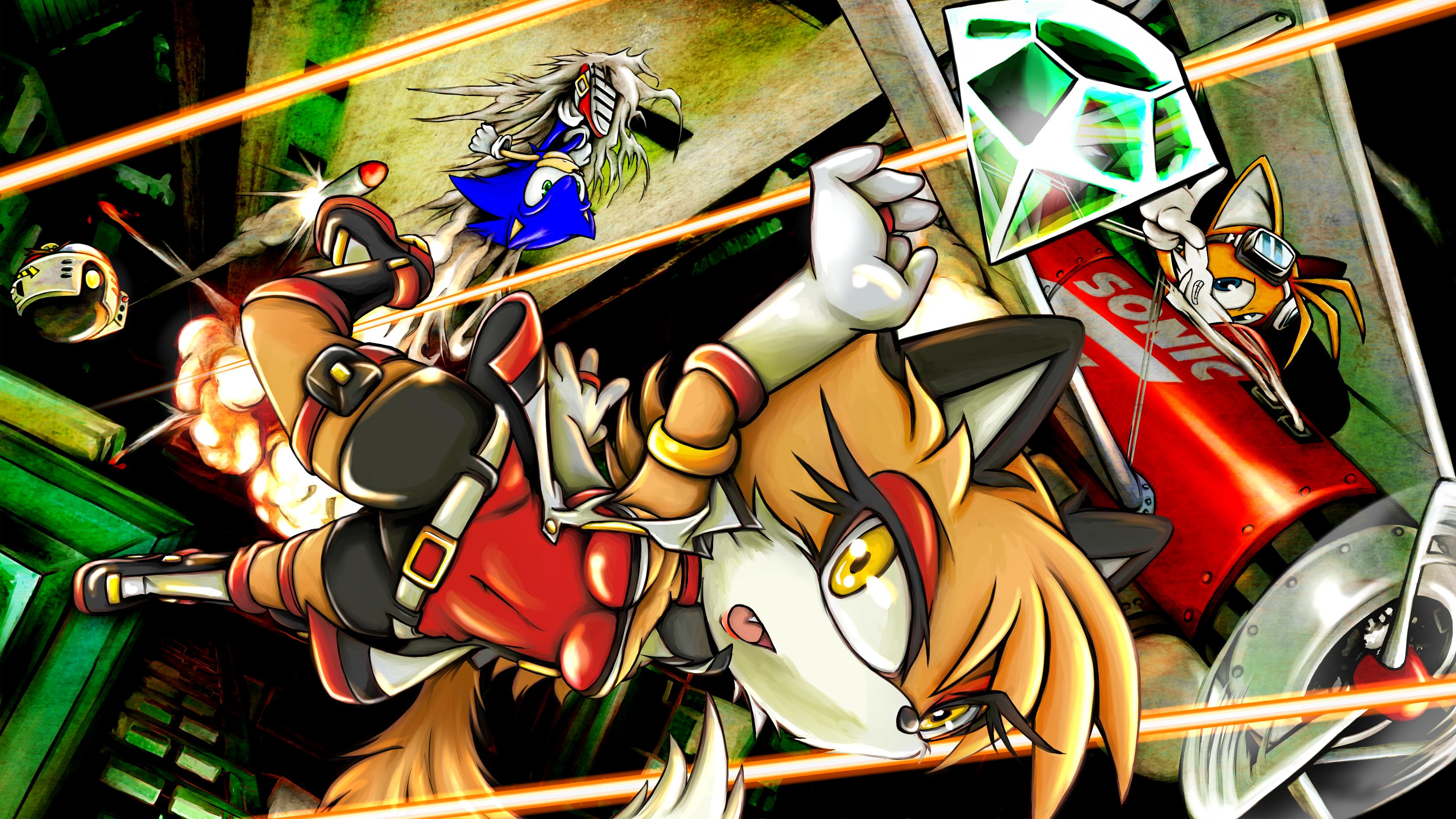 Sonic Oc Moley Fox By Skyshek Fan Art Digital Drawings Movies Tv