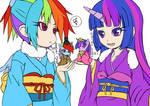 MLP  RainbowDash Twilight Hinamatsuri(Design Test)