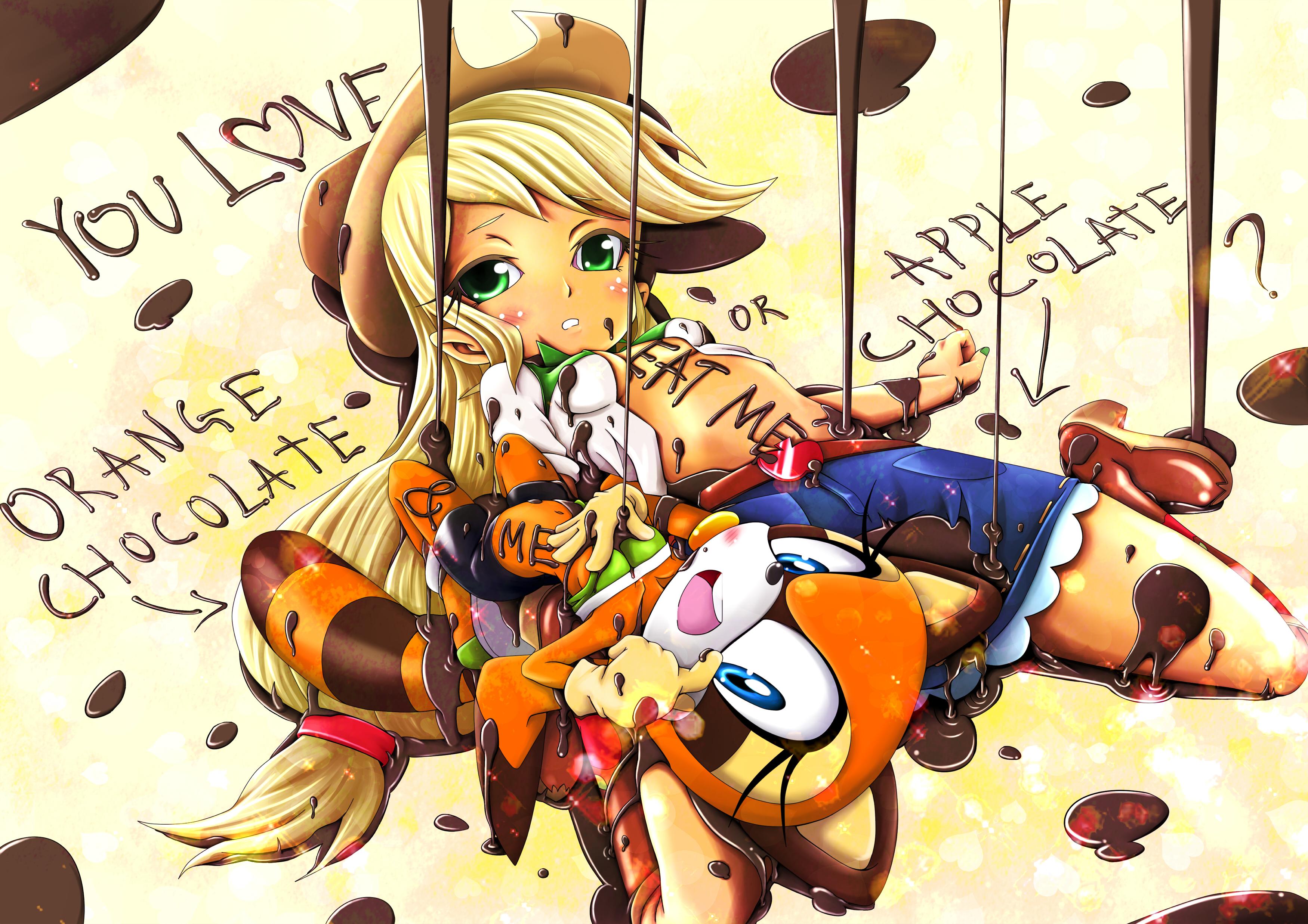 Applejack And Marine Valentine