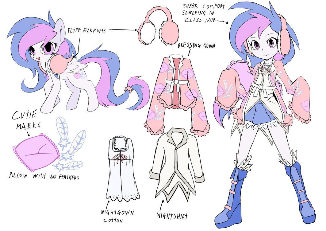 Mlp Oc Billow Ponyequestria GirlsDesignTest By Skyshek