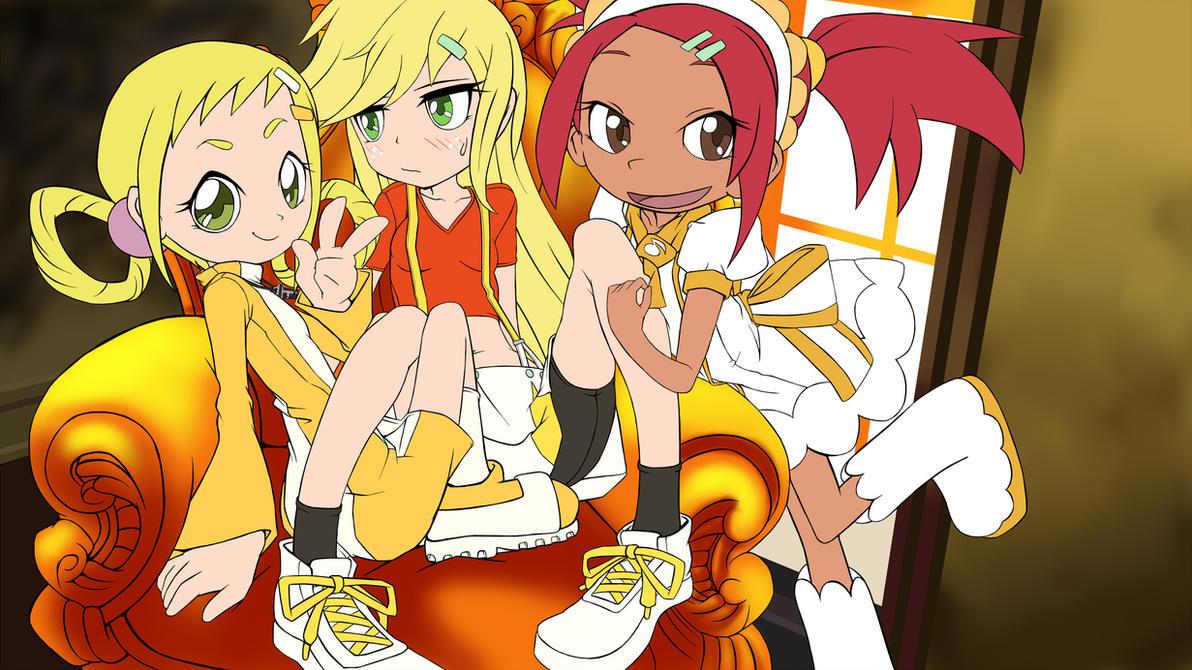 Sunshine girls (DesignTest) by skyshek