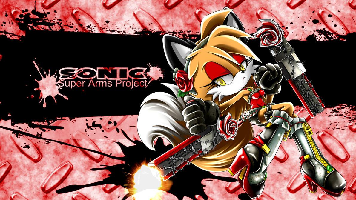 SonicSuperArmsProject Moley-Fox by skyshek