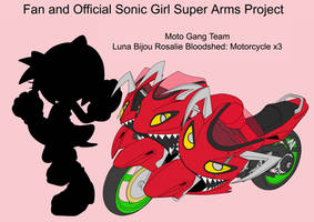 SonicSuperArmsProject  Luna Moto(DesignTest) by skyshek