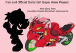 SonicSuperArmsProject  Luna Moto(DesignTest)