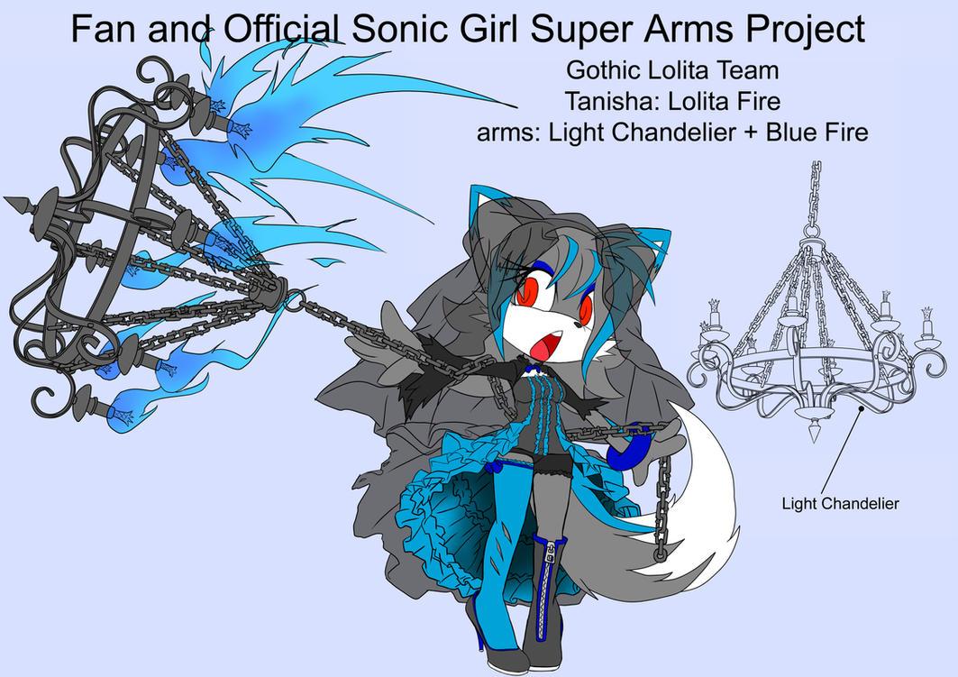 SonicSuperArmsProject  Tanisha(DesignTest) by skyshek
