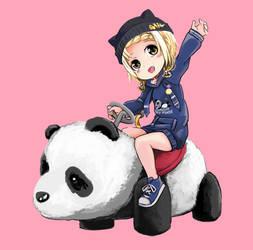 Hoonie and Panda car