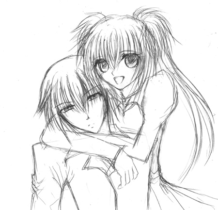 Ikuto and utau by ShugoCharaJunkie