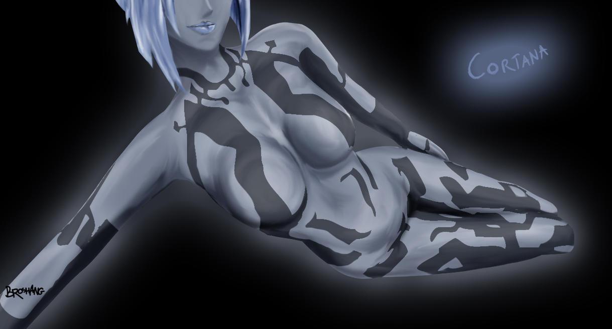 Sexy Cortana by Broshang