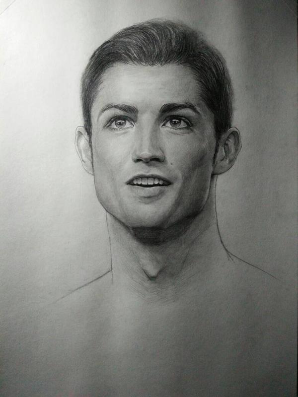 Cristiano Ronaldo by Zombieyue
