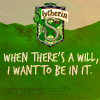 Slytherin will by Mazza-909