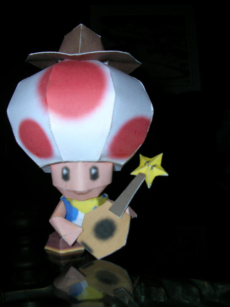 Cowboy Toad papercraft by Gipi2009