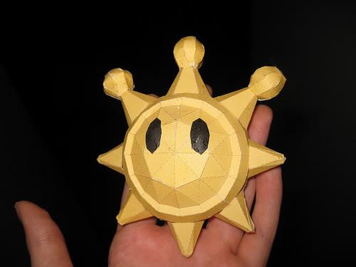 Shine Sprite papercraft by Gipi2009