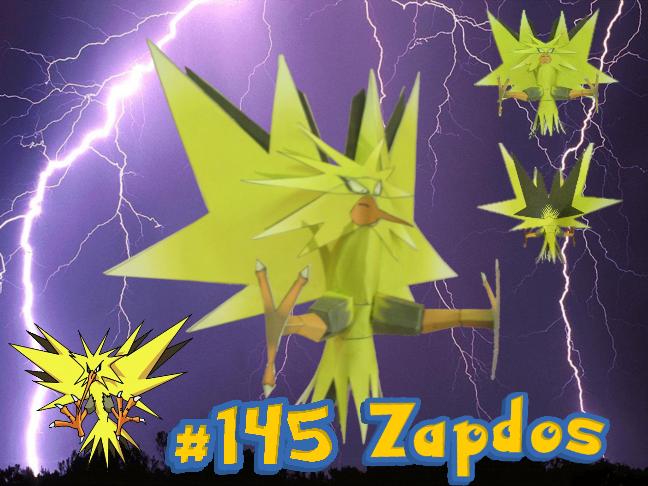 Zapdos by Gipi2009