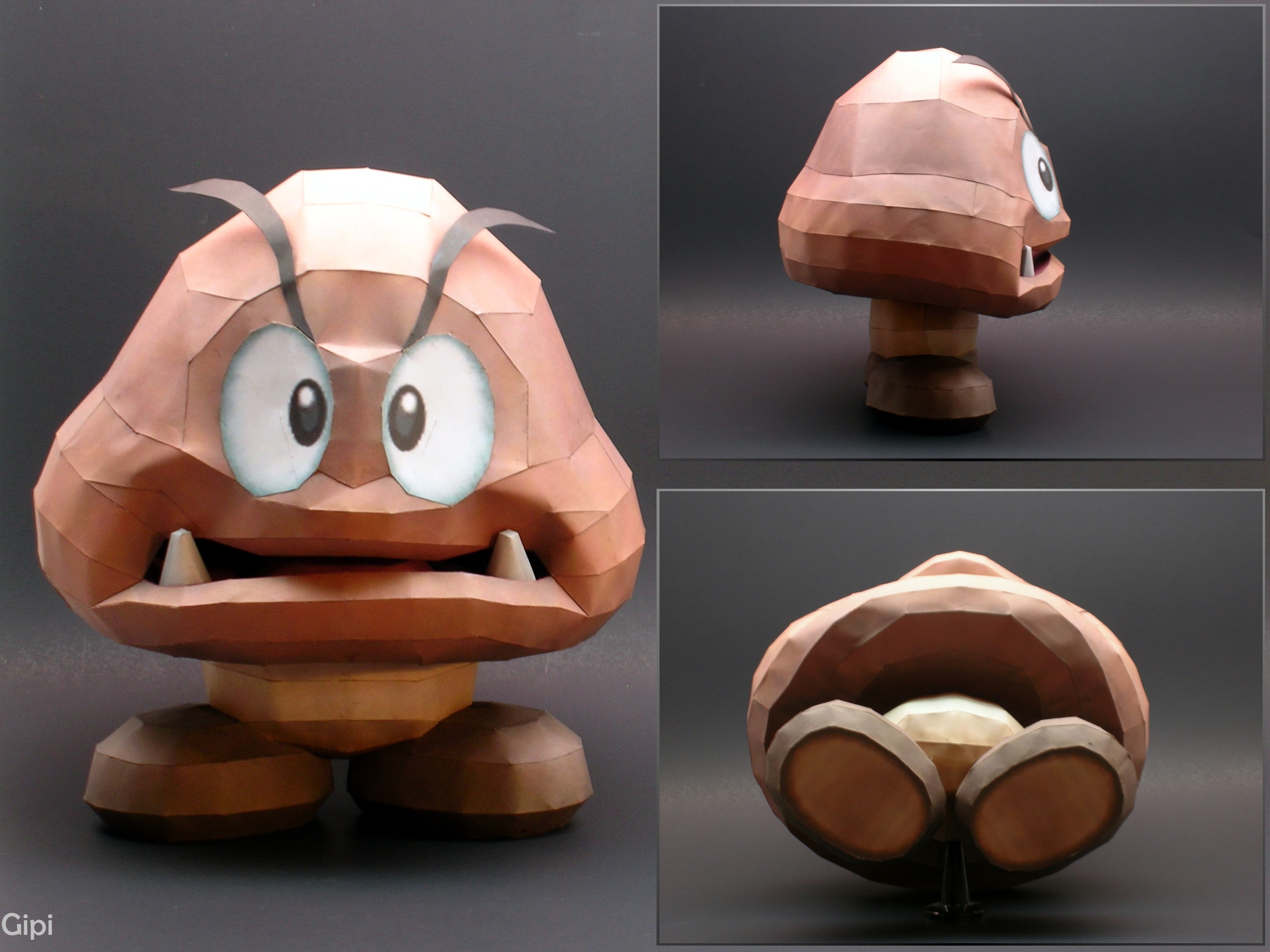 Goomba from Brawl by Gipi2009
