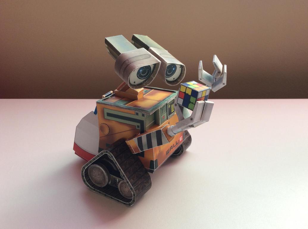 WALL-E Paper Model by Gipi2009
