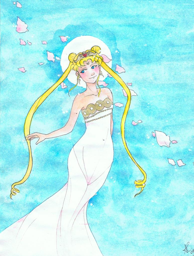 Sailor Moon by snowfake