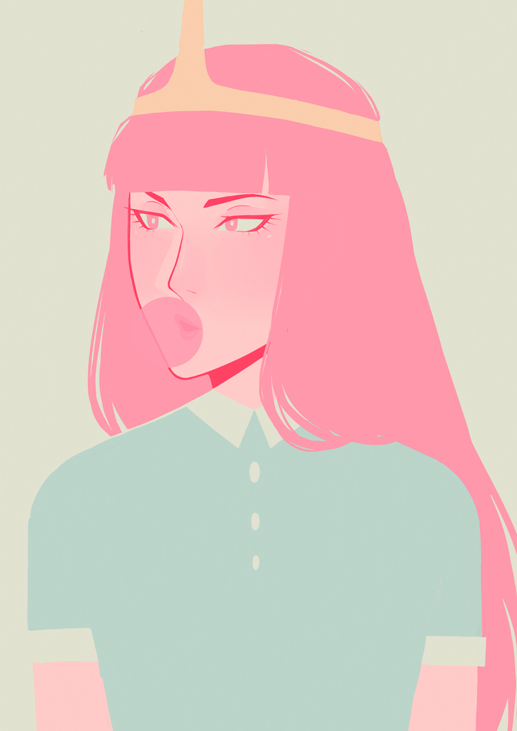 Princess Bubblegum By Or Shadow