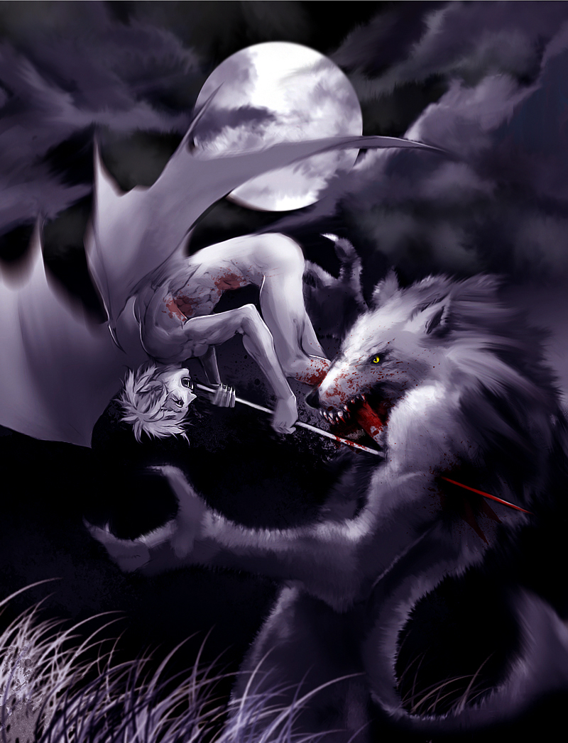 Vampire vs Werewolf by Basilisk193 on DeviantArt