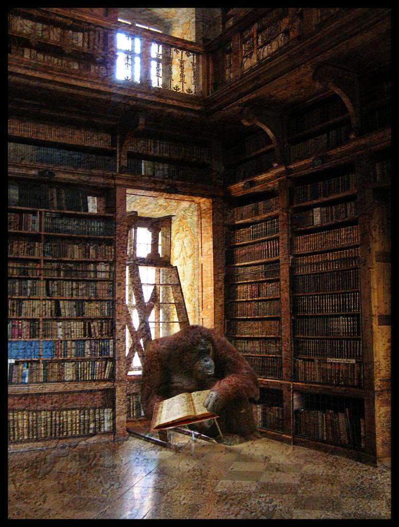 Kutak za knjiške moljce  - Page 2 Discworld_library_by_Ka_Kind